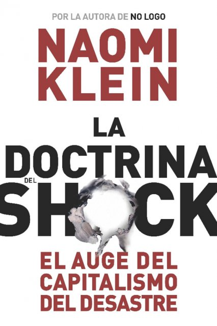 The Shock Doctrine -- Spanish Hardcover