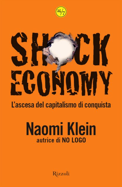The Shock Doctrine: Italian Hardcover